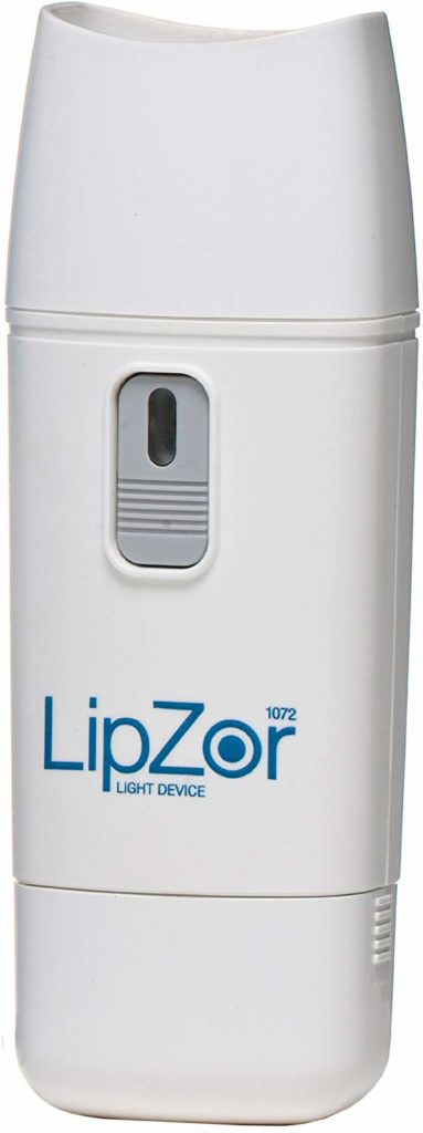 Lipzor Light treatment for cold sores